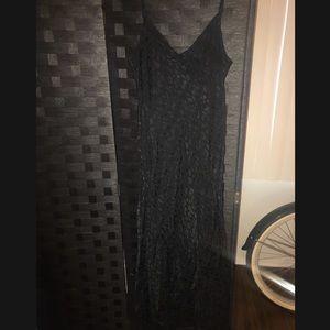 Zara slip maxi dress